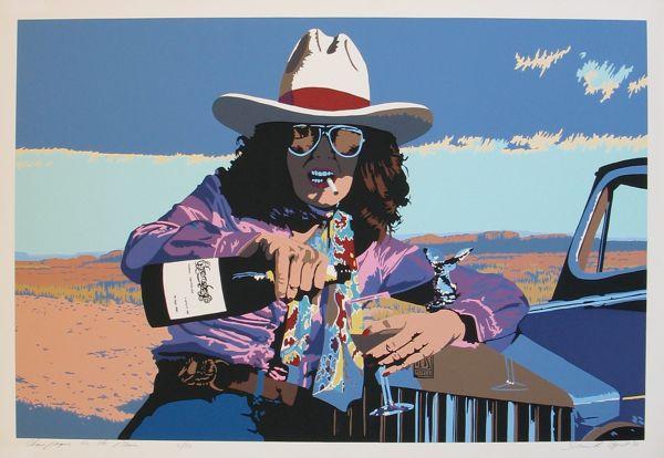 Champagne on the Plain – Bill Schenck – 1986 (26.5 x 40) Price on Request
