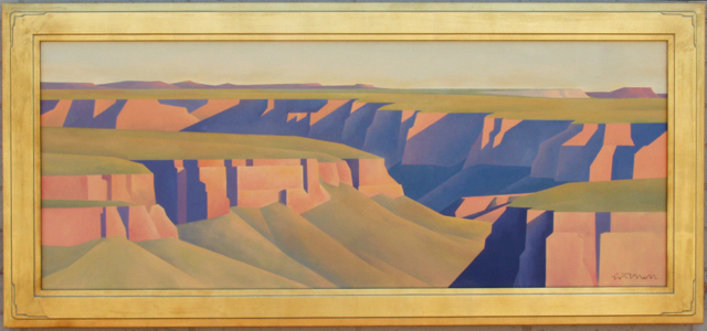 Ed Mell Distant Canyon 1987