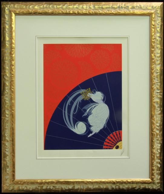 "Erté ""Legerte"" Serigraph 1978"