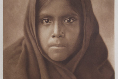 Qahatika Girl – North American Indian – Edward S. Curtis (1907)
