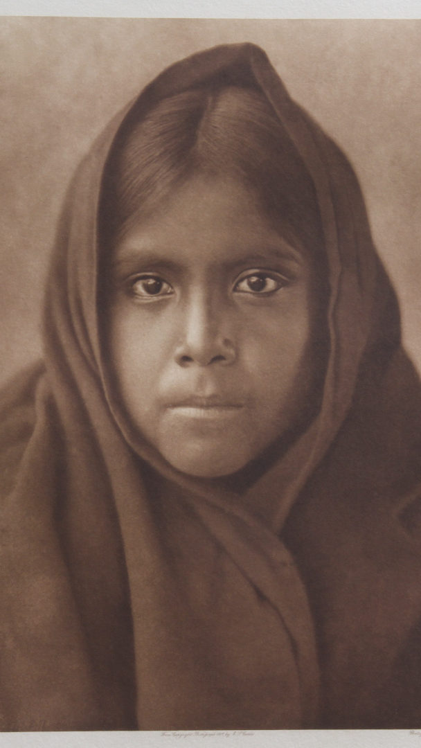 Qahatika Girl – North American Indian – Edward S. Curtis (1907)