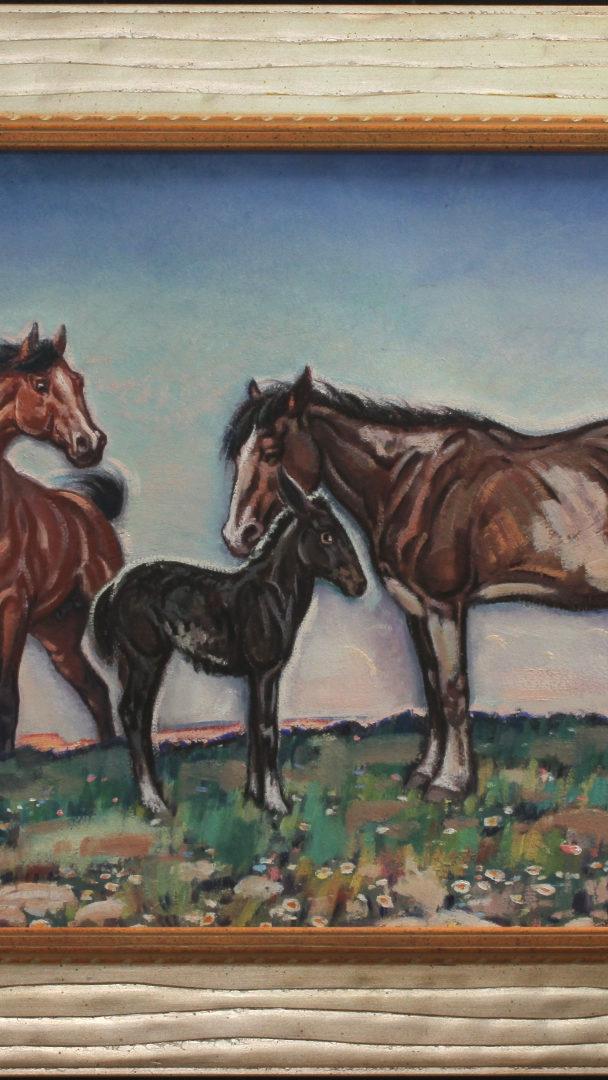 The Mule Colt by Lon Megargee ca. 1940s